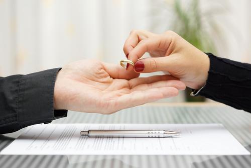 Žádost o rozvod