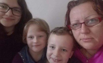 Pomohli jsme Lucce a jejím třem dětem