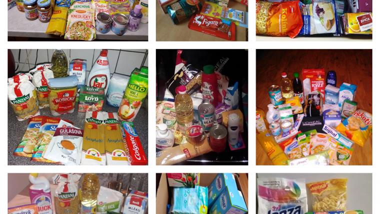 Národní potravinová sbírka – děkujeme všem