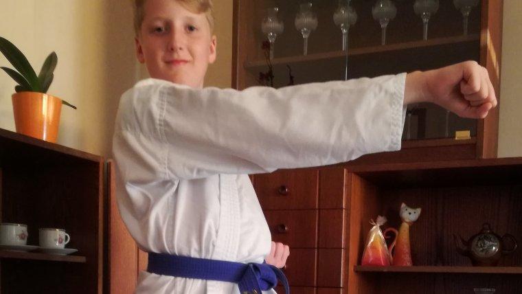 Matyáš bude chodit na karate
