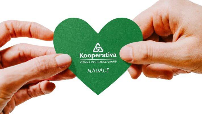 Děkujeme Nadaci Kooperativa